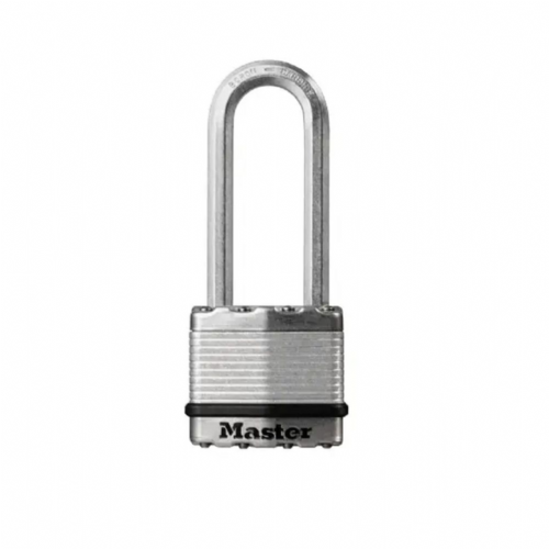 Master Lock M5EURDLJ Excell Laminated Steel 50mm Padlock - 64mm Shackle